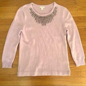 J. crew jewel sweater